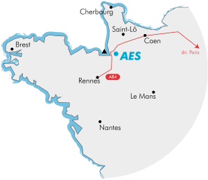 Localisation AES - Normandie